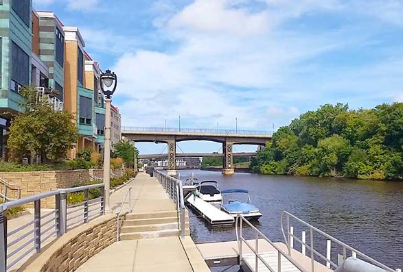 Amazing Milwaukee Riverfront Views
